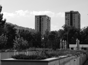 View into Grbaviĉa district, Sarajevo